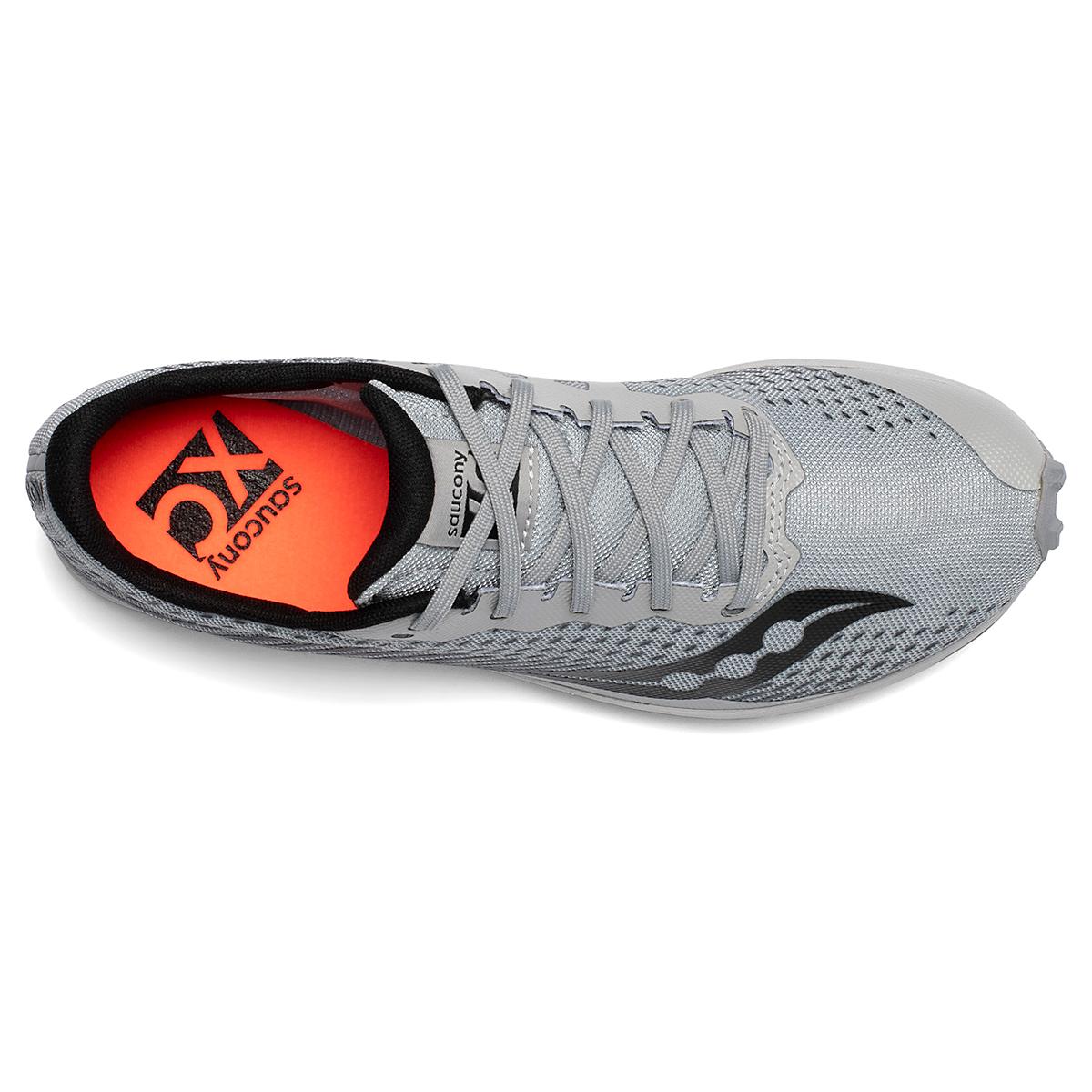 Men's Saucony Kilkenny XC8 Track Spikes - Color: Alloy/Black - Size: 8 - Width: Regular, Alloy/Black, large, image 3