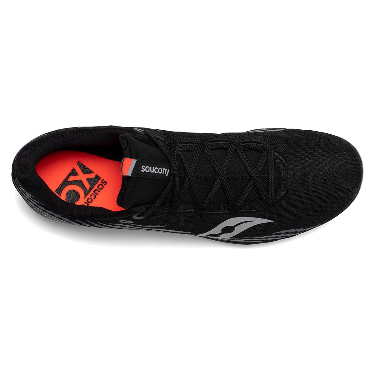 Men's Saucony Havok XC 3 Spike - Color: Black - Size: 8 - Width: Regular, Black, large, image 4