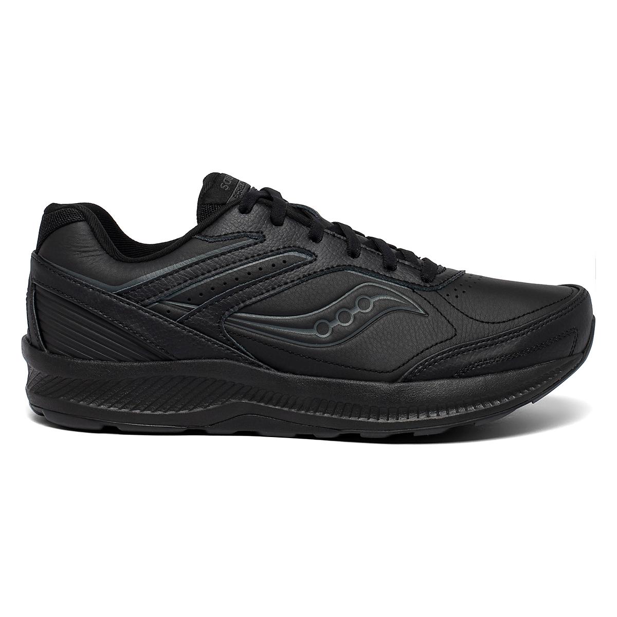 Men's Saucony Echelon Walker 3 Walking Shoe - Color: Black - Size: 7 - Width: Regular, Black, large, image 1