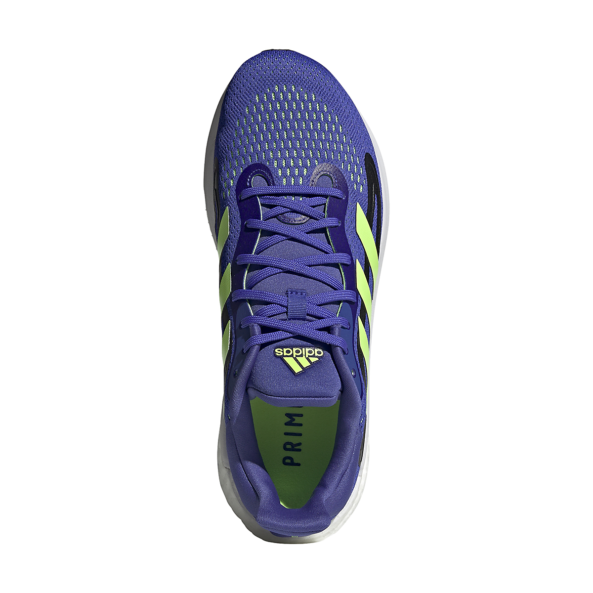 Men's Adidas SolarGlide 4 Running Shoe - Color: Sonic Ink/Signal Green/Core Black - Size: 6.5 - Width: Regular, Sonic Ink/Signal Green/Core Black, large, image 6