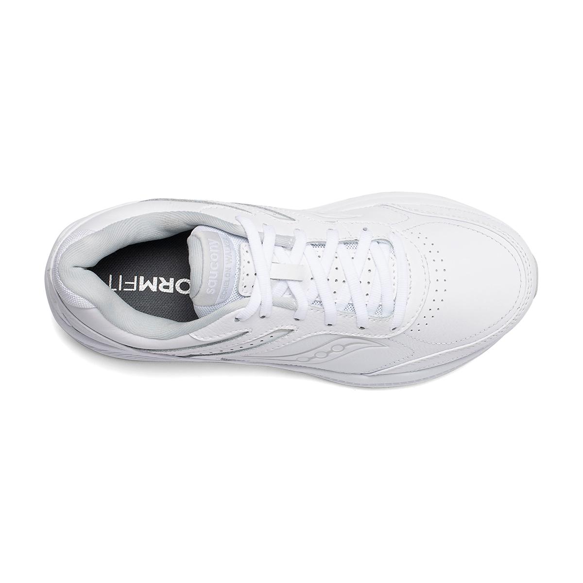 Women's Saucony Echelon Walker 3 Walking Shoe - Color: White - Size: 5 - Width: Regular, White, large, image 3