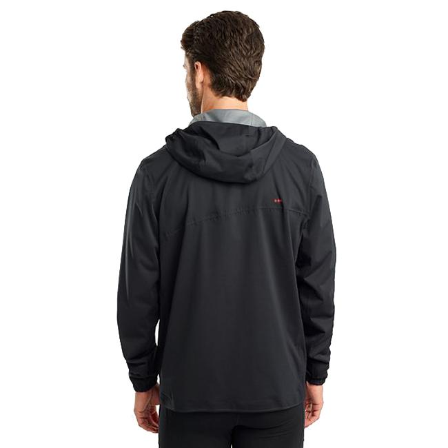 Men's Saucony Drizzle Jacket  - Color: Black - Size: S, Black, large, image 2