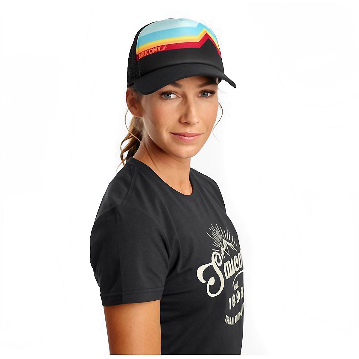 Saucony Foam Trucker Hat - Color: Black, Black, large, image 1