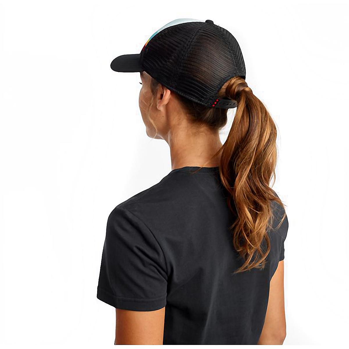 Saucony Foam Trucker Hat - Color: Black, Black, large, image 2