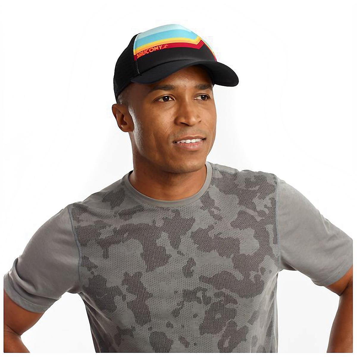 Saucony Foam Trucker Hat - Color: Black, Black, large, image 3