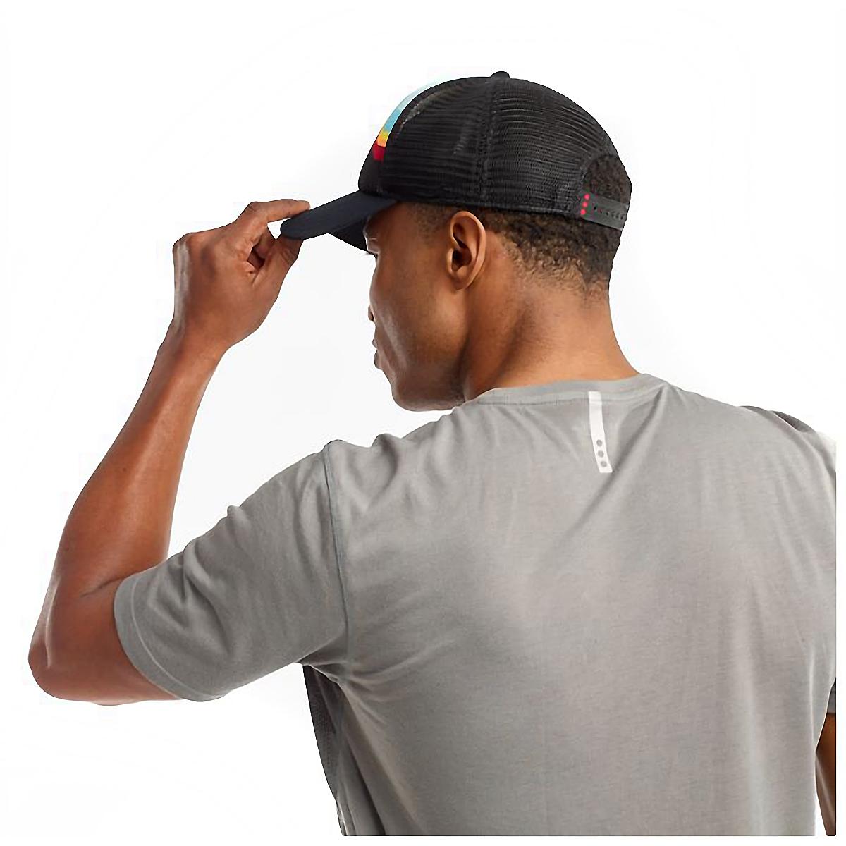 Saucony Foam Trucker Hat - Color: Black, Black, large, image 4