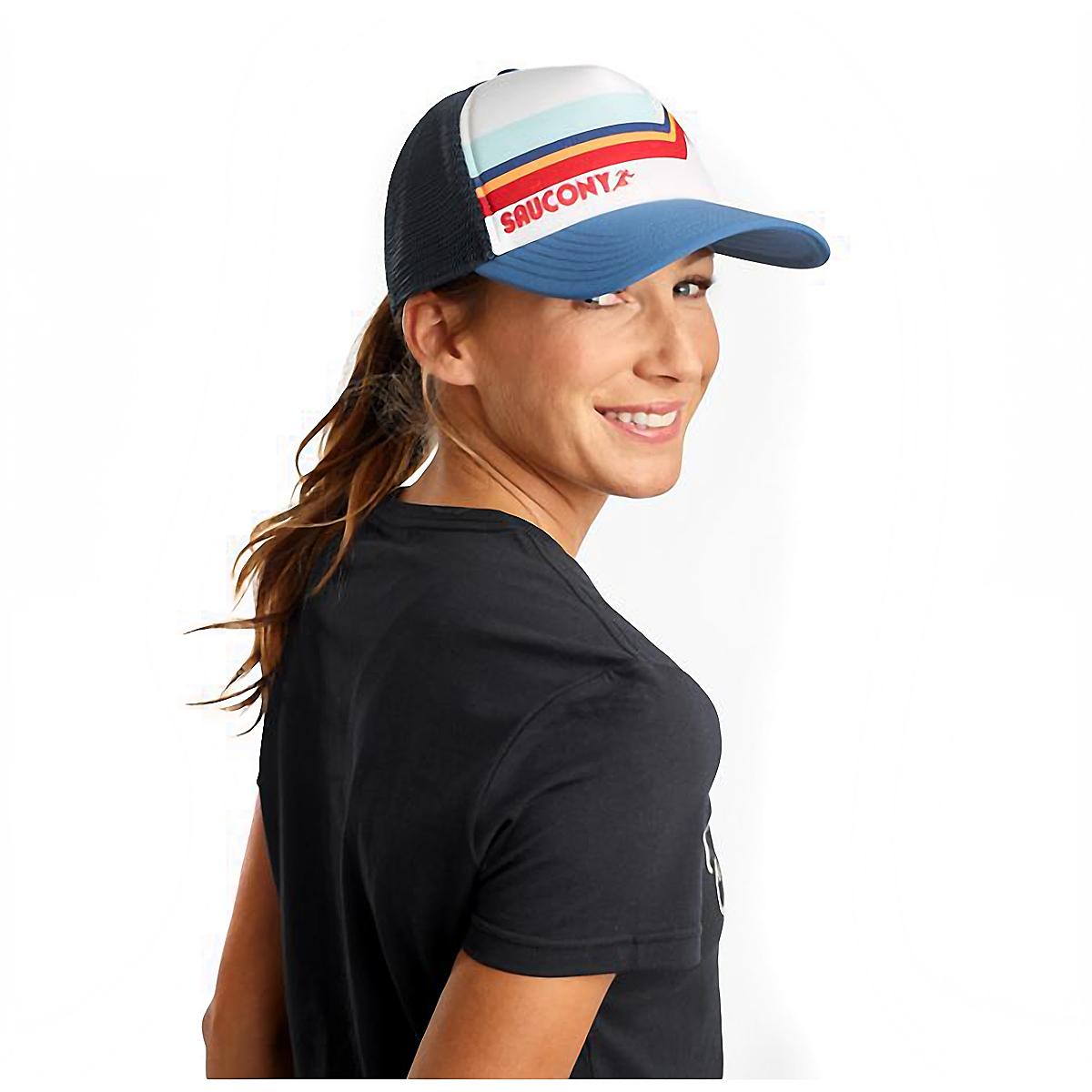 Saucony Foam Trucker Hat - Color: White, White, large, image 1