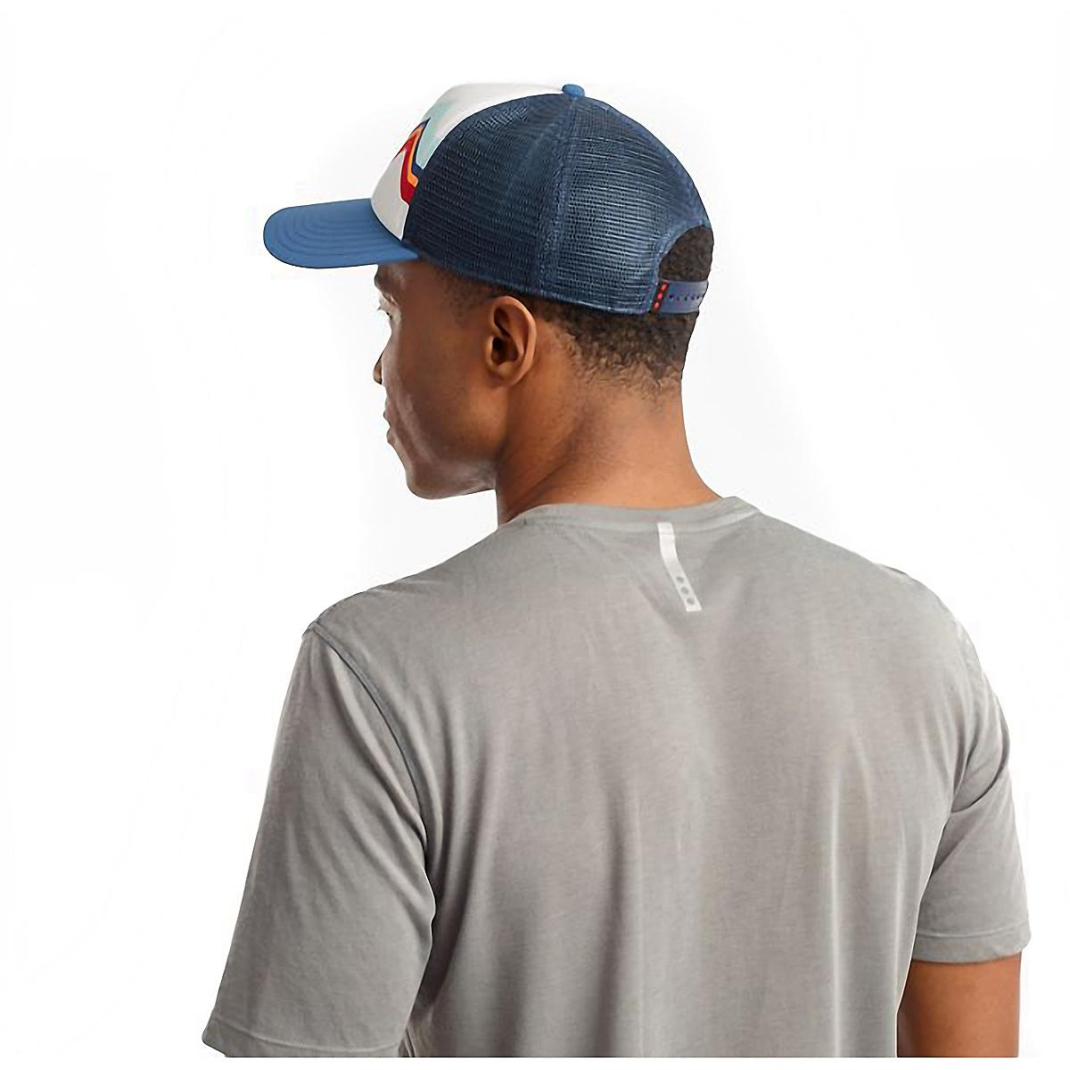 Saucony Foam Trucker Hat - Color: White, White, large, image 4