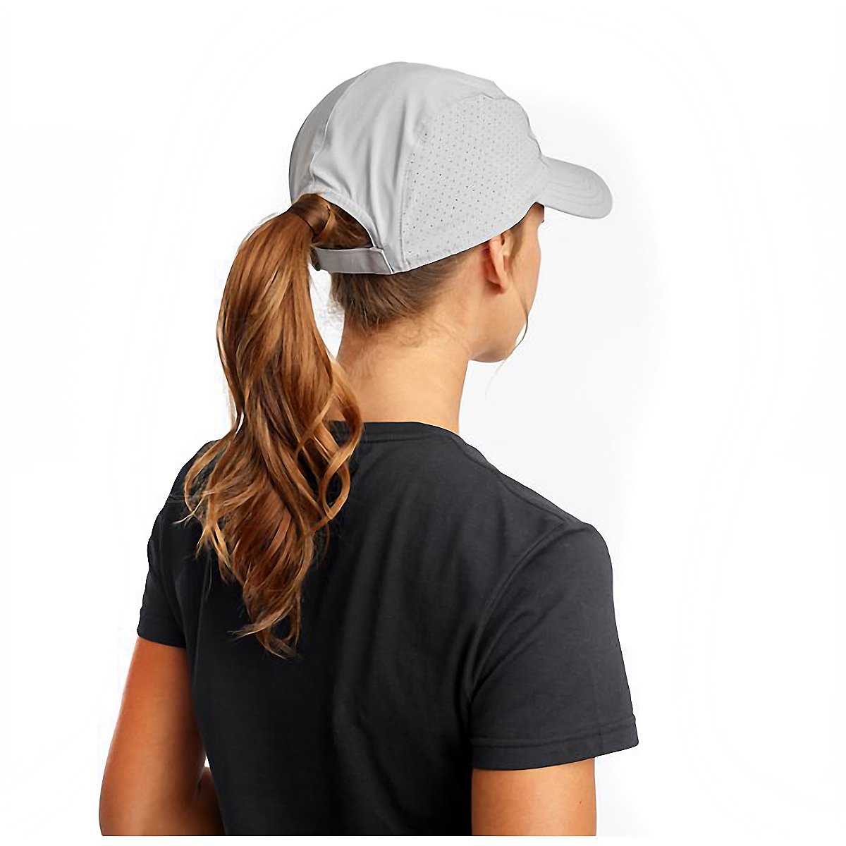 Saucony Outpace Hat - Color: Alloy, Alloy, large, image 2