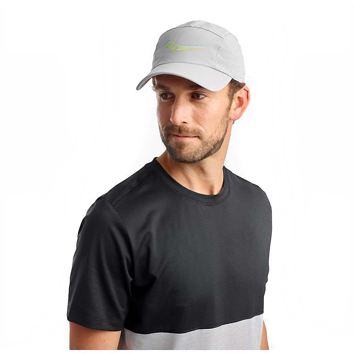 Saucony Outpace Hat - Color: Alloy, Alloy, large, image 3