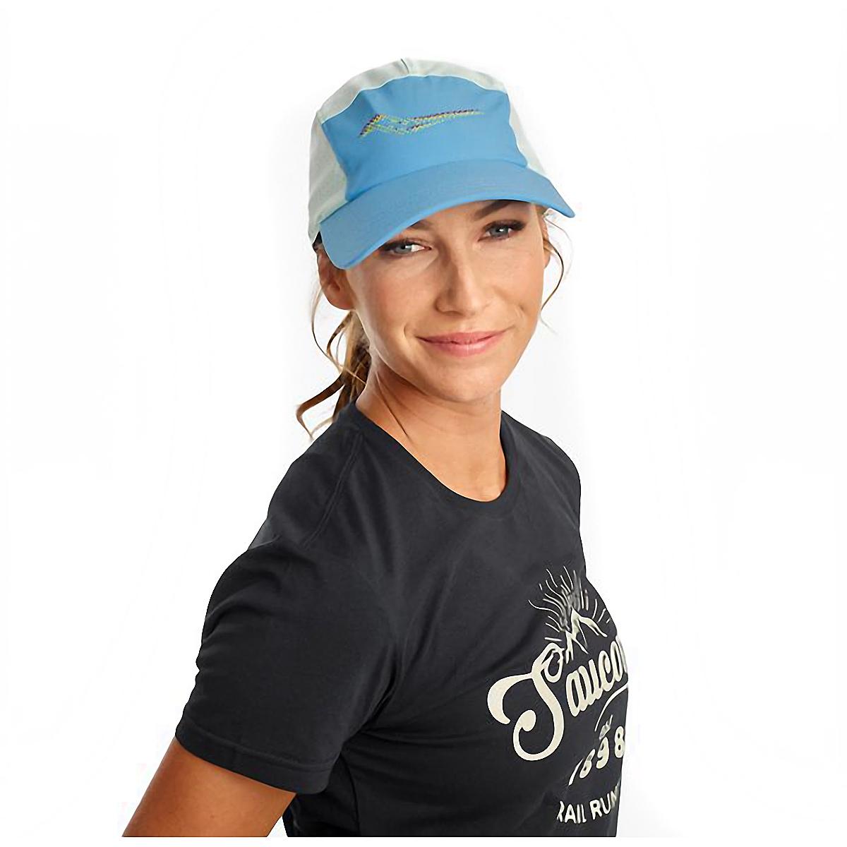 Saucony Outpace Hat - Color: Bonnie Blue, Bonnie Blue, large, image 1