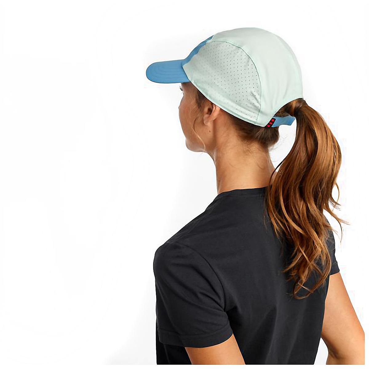Saucony Outpace Hat - Color: Bonnie Blue, Bonnie Blue, large, image 2