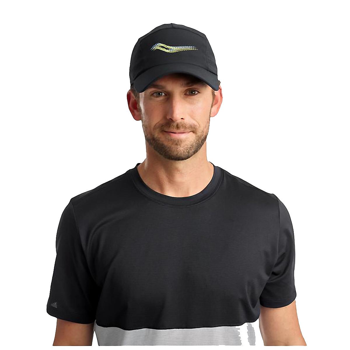 Saucony Outpace Hat - Color: Black, Black, large, image 3