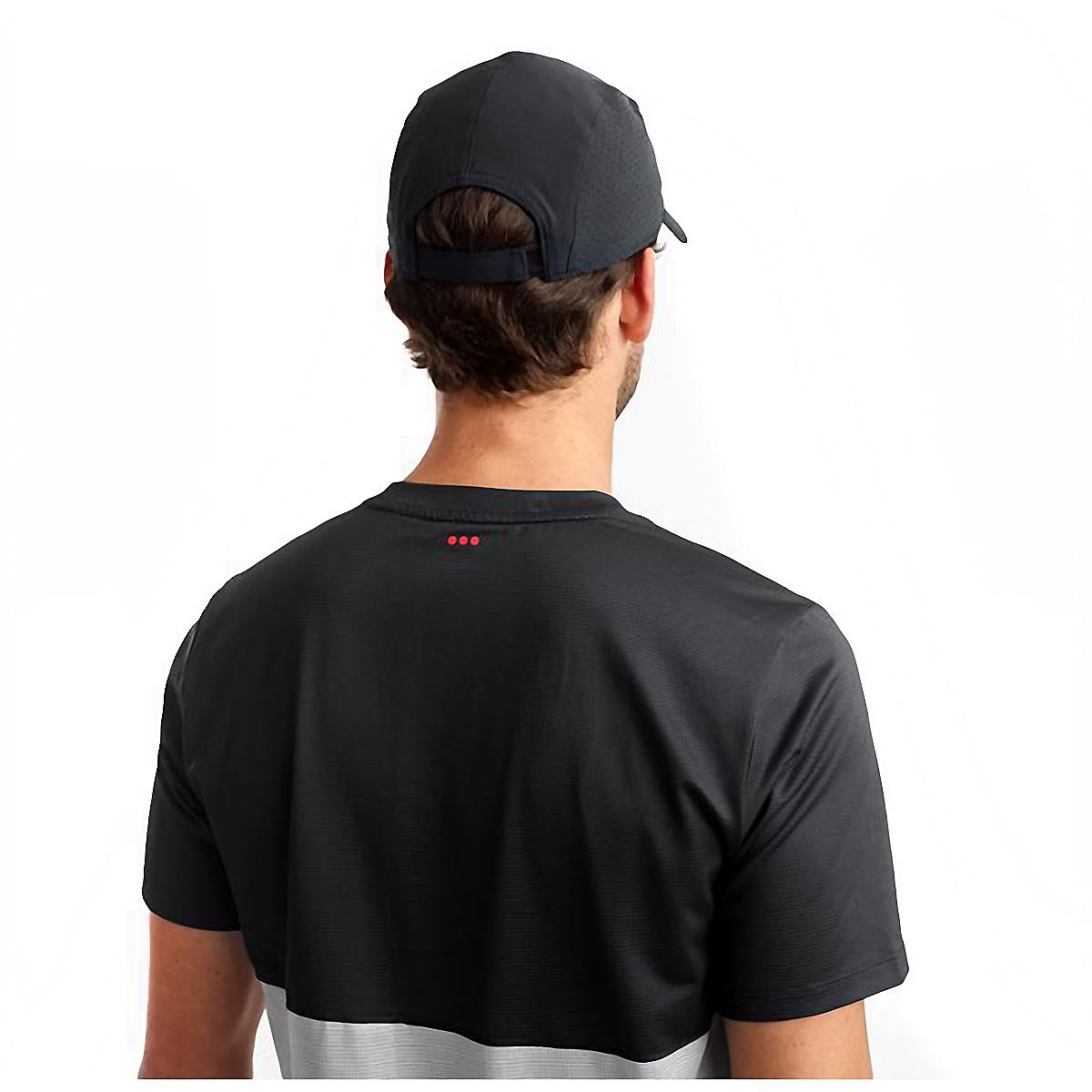 Saucony Outpace Hat - Color: Black, Black, large, image 4