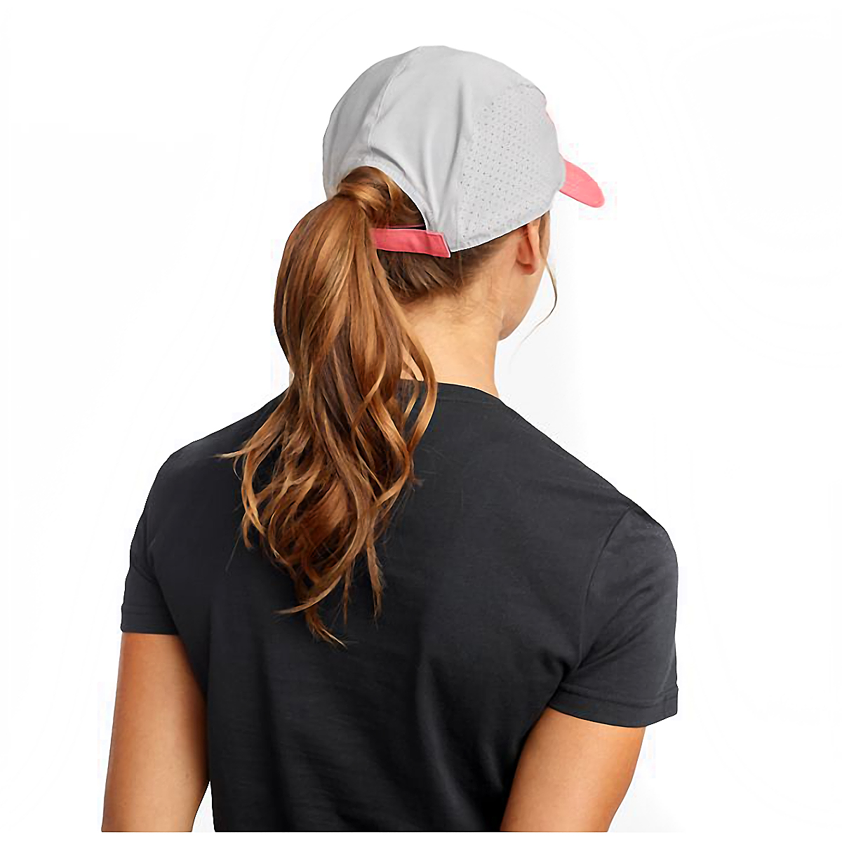 Saucony Outpace Hat - Color: Calypso Coral, Calypso Coral, large, image 2