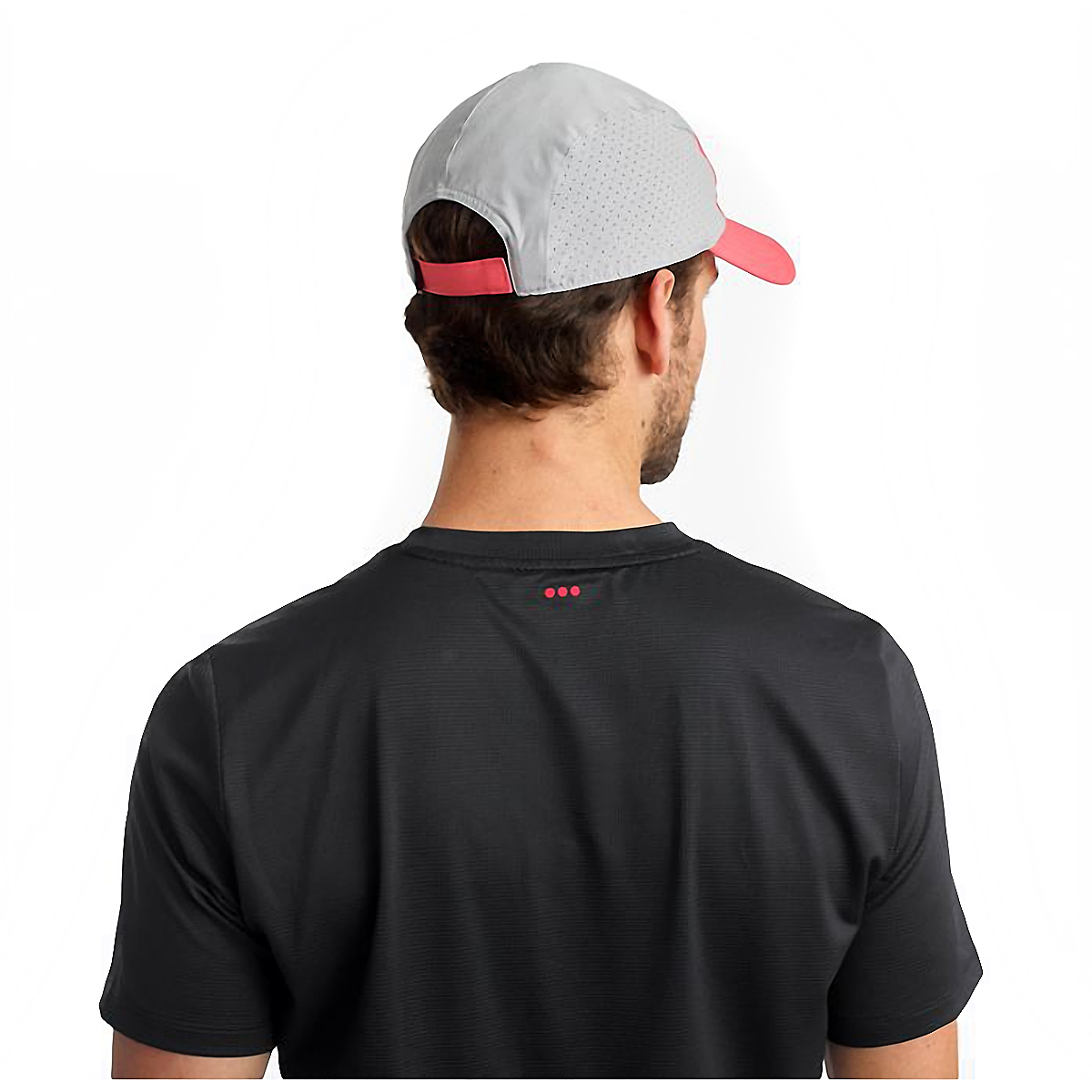 Saucony Outpace Hat - Color: Calypso Coral, Calypso Coral, large, image 4
