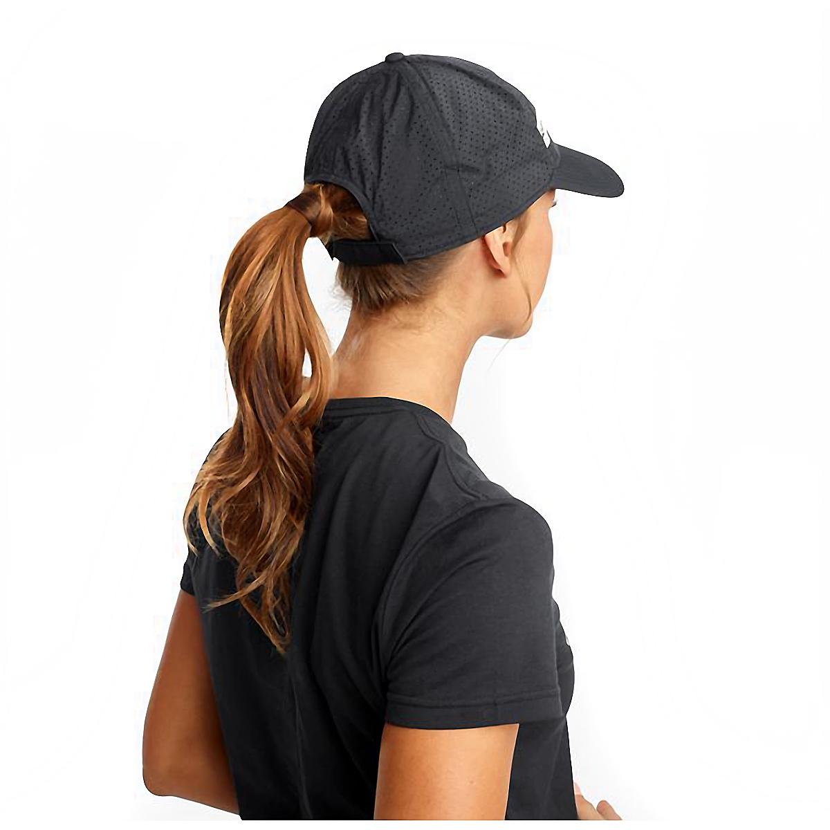 Saucony Doubleback Hat - Color: Black, Black, large, image 2