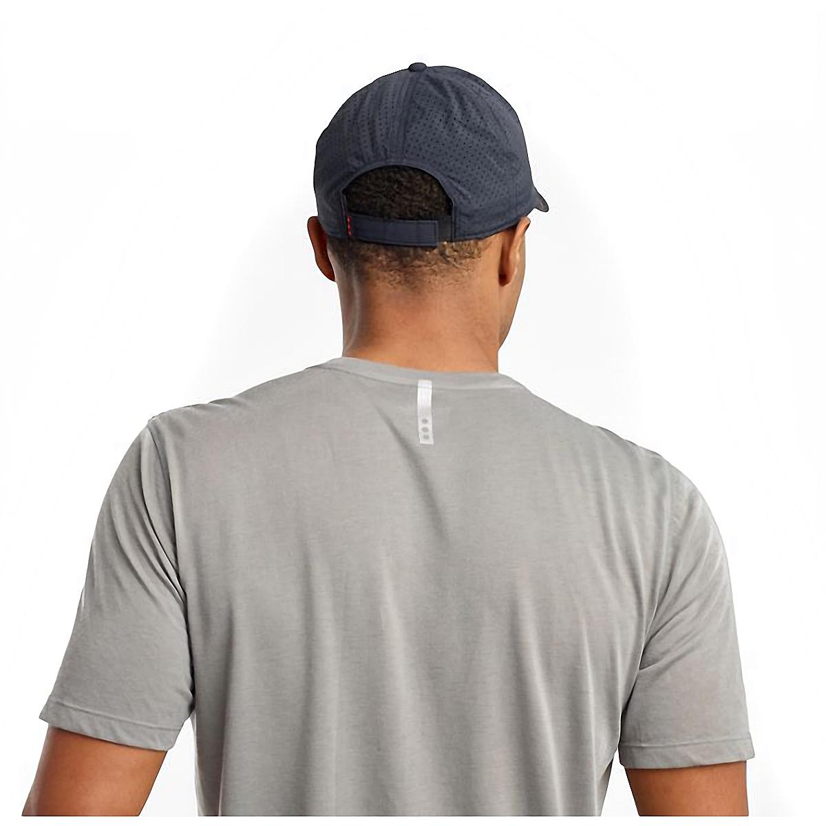 Saucony Doubleback Hat - Color: Black, Black, large, image 4