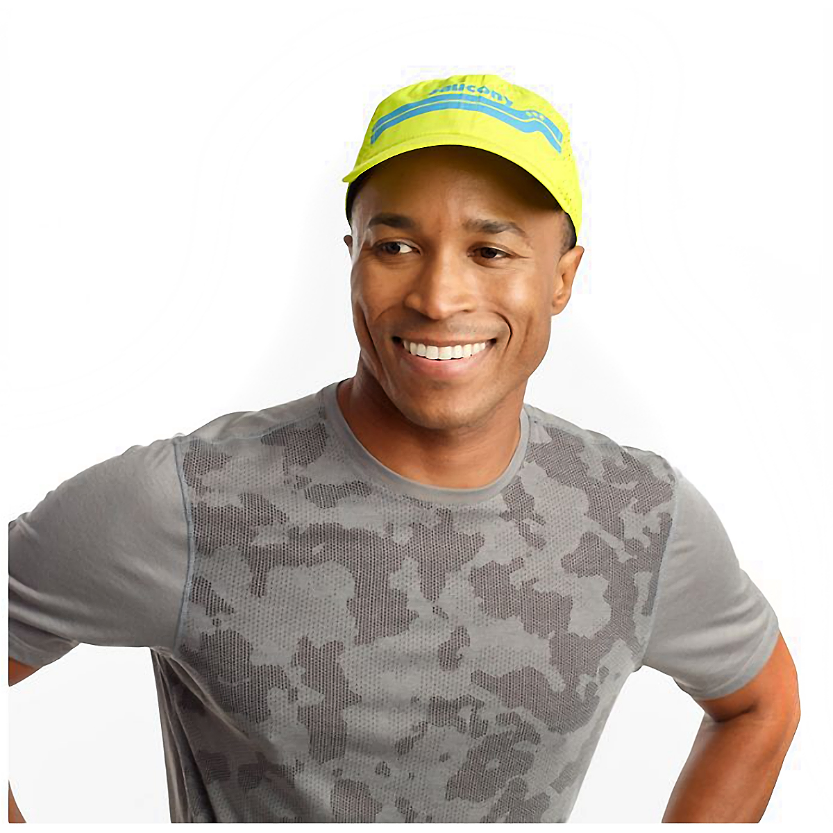 Saucony Doubleback Hat - Color: Evening Primrose, Evening Primrose, large, image 3