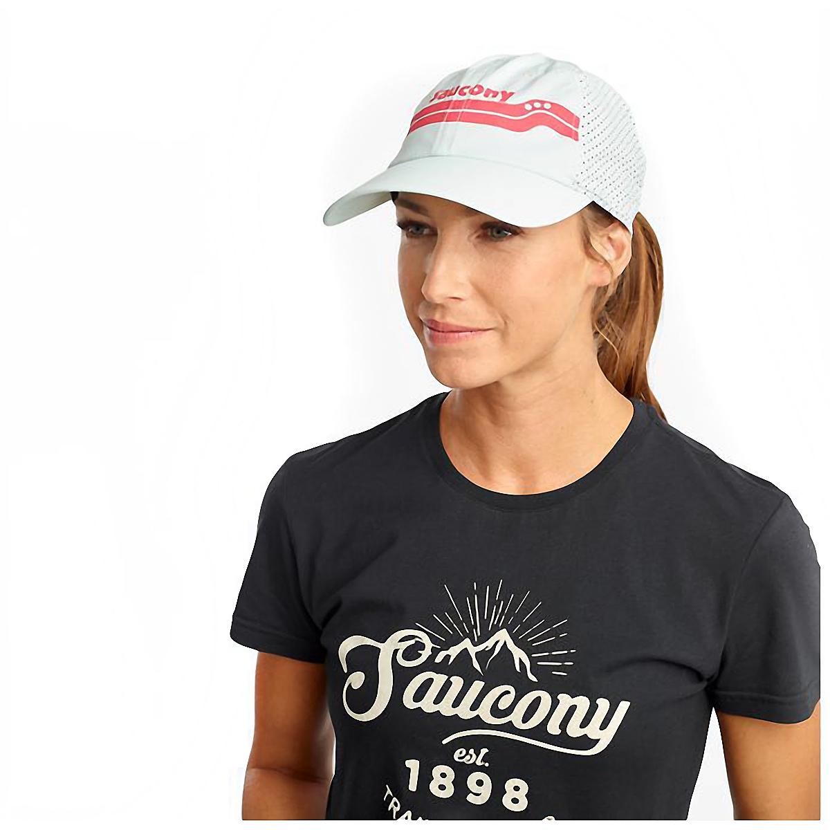 Saucony Doubleback Hat - Color: Opal Blue, Opal Blue, large, image 1