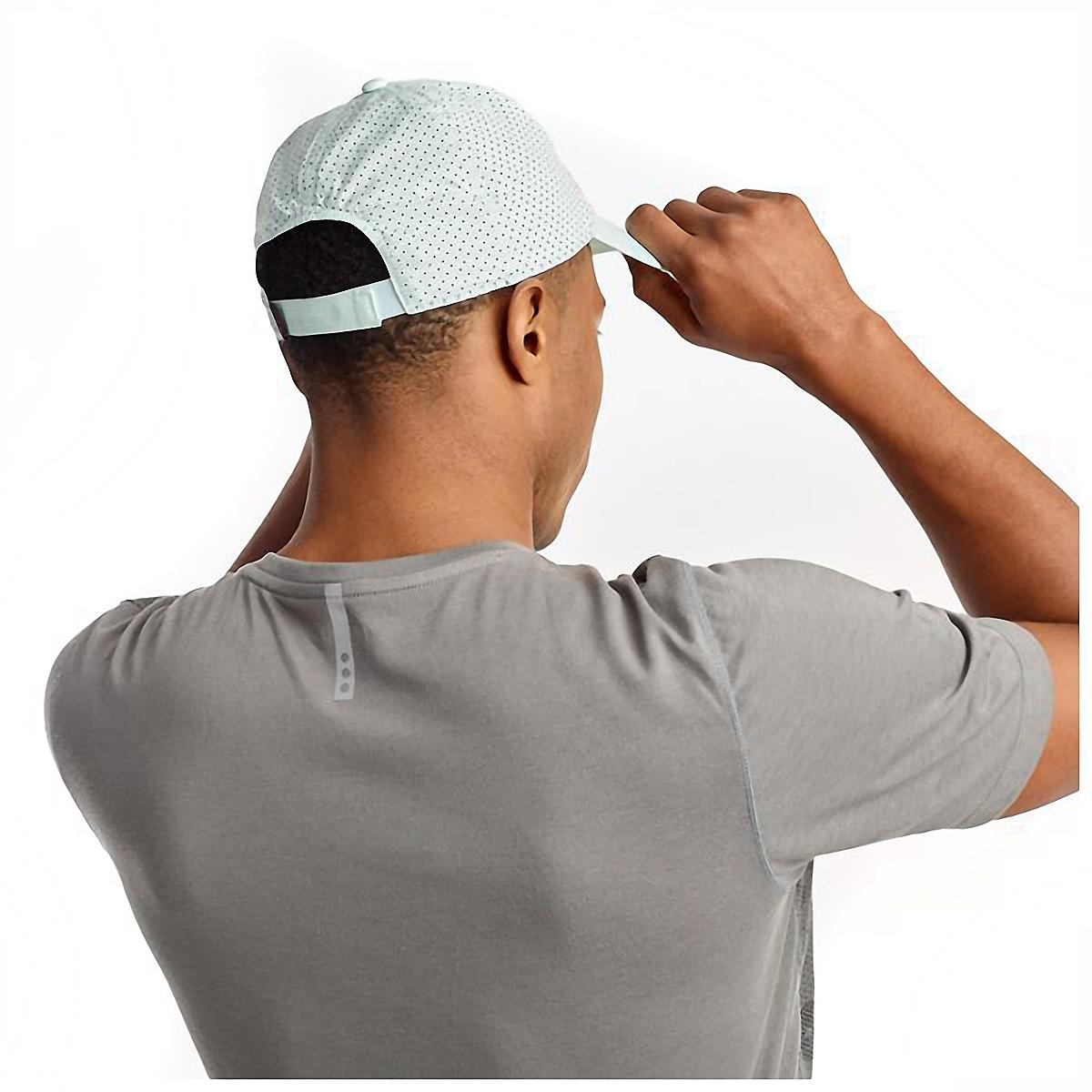 Saucony Doubleback Hat - Color: Opal Blue, Opal Blue, large, image 4