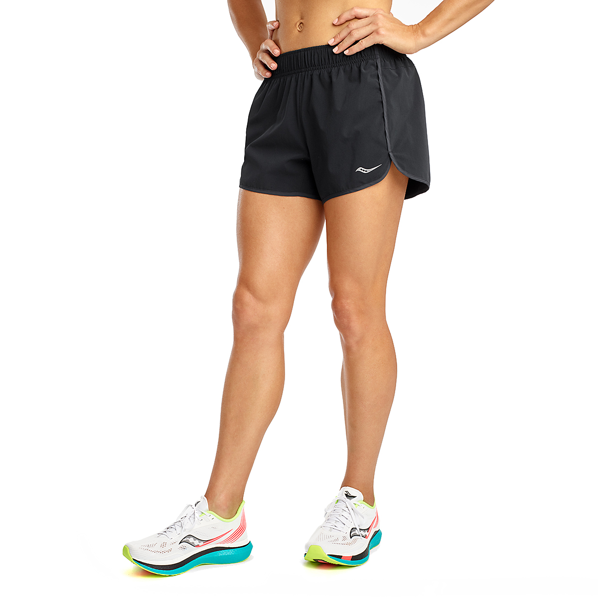 "Women's Saucony Outpace 3"" Short, , large, image 1"