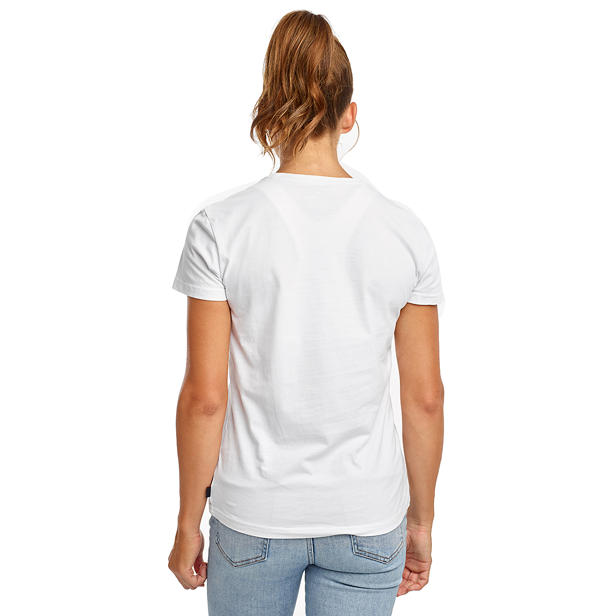 Women's Saucony Rested Short Sleeve - Color: White - Size: XXS, White, large, image 2