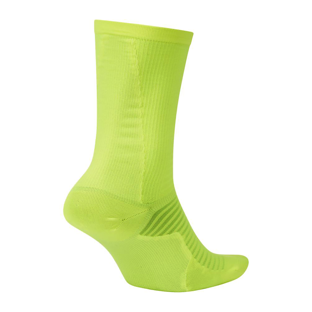 Nike Spark Lightweight Crew Running Socks - Color: Neon Yellow - Size: 4/5.5, Neon Yellow, large, image 2