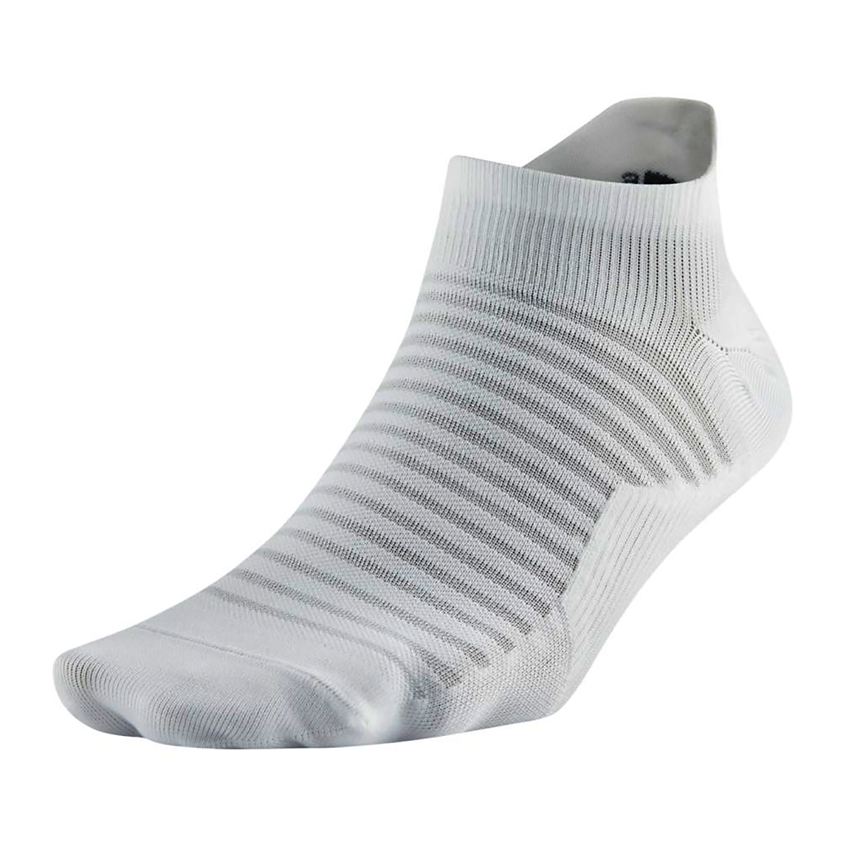 Nike Spark Lightweight No-Show Running Socks - Color: White - Size: 4/5.5, White, large, image 1
