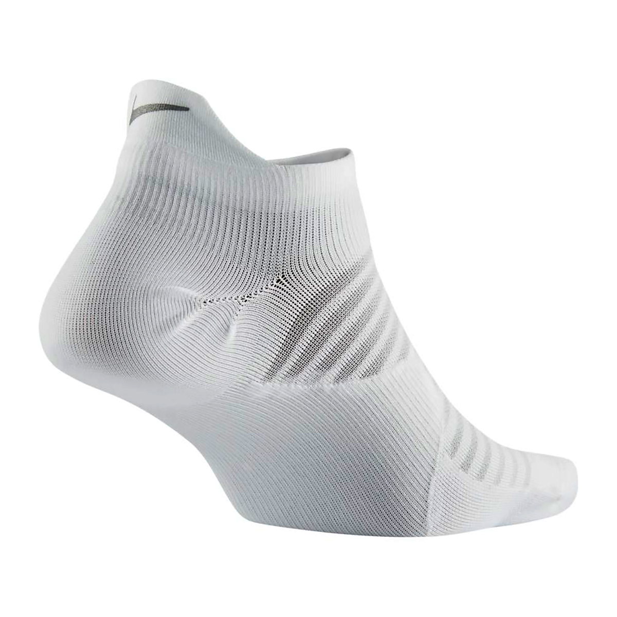 Nike Spark Lightweight No-Show Running Socks - Color: White - Size: 4/5.5, White, large, image 2