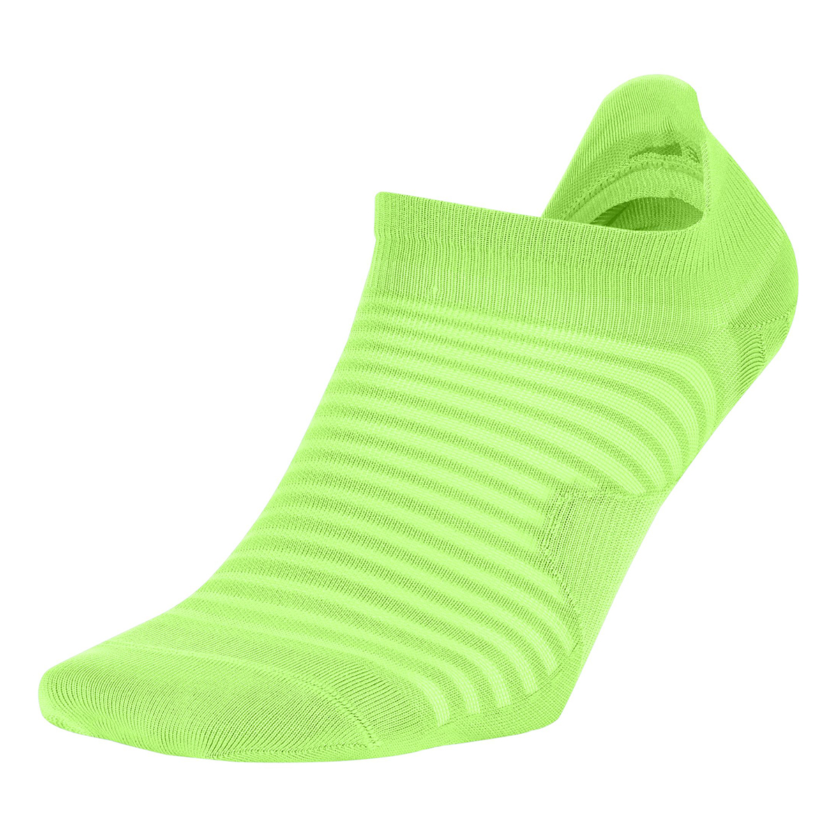 Nike Spark Lightweight No-Show Running Socks - Color: Lime Blast - Size: 4/5.5, Lime Blast, large, image 1