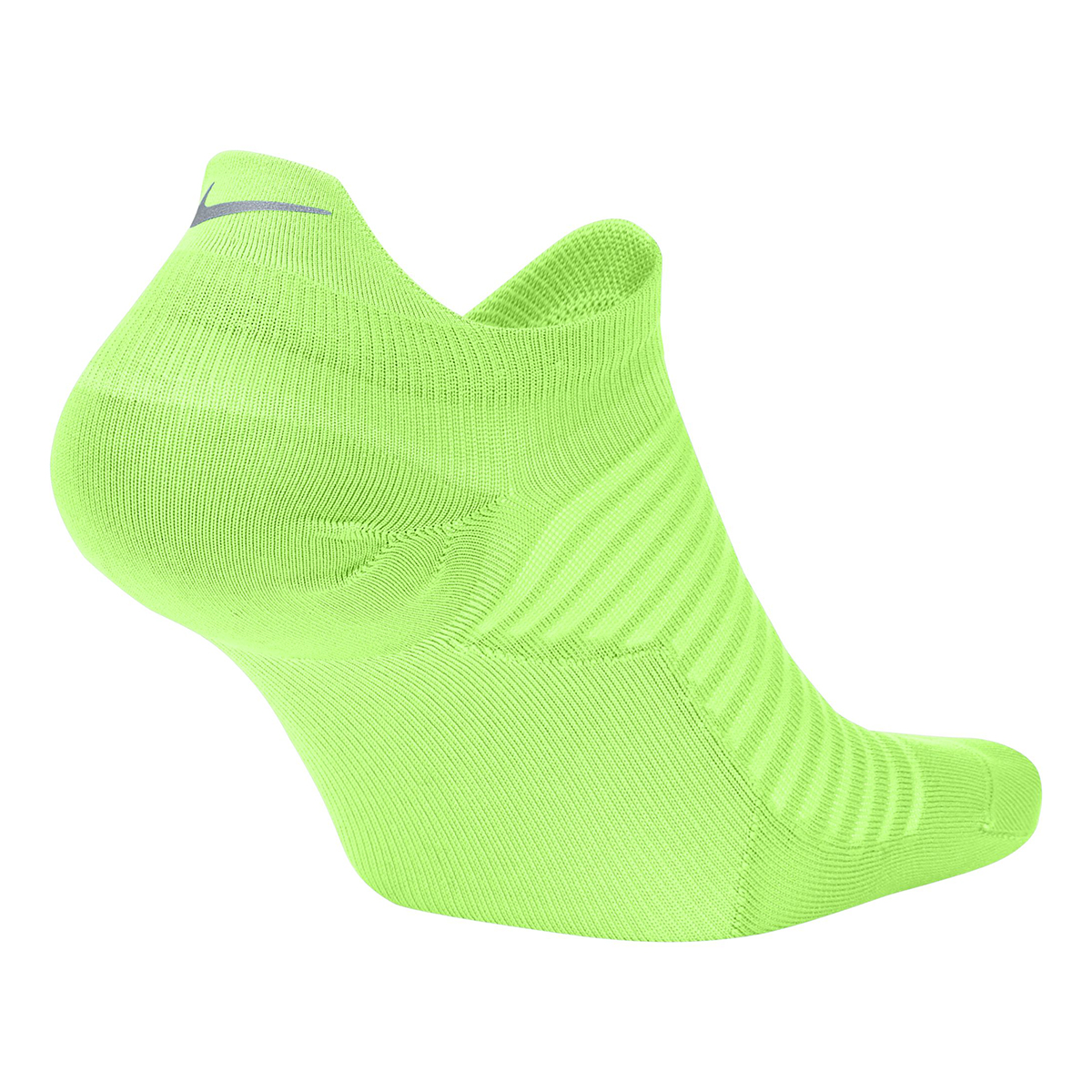 Nike Spark Lightweight No-Show Running Socks - Color: Lime Blast - Size: 4/5.5, Lime Blast, large, image 2