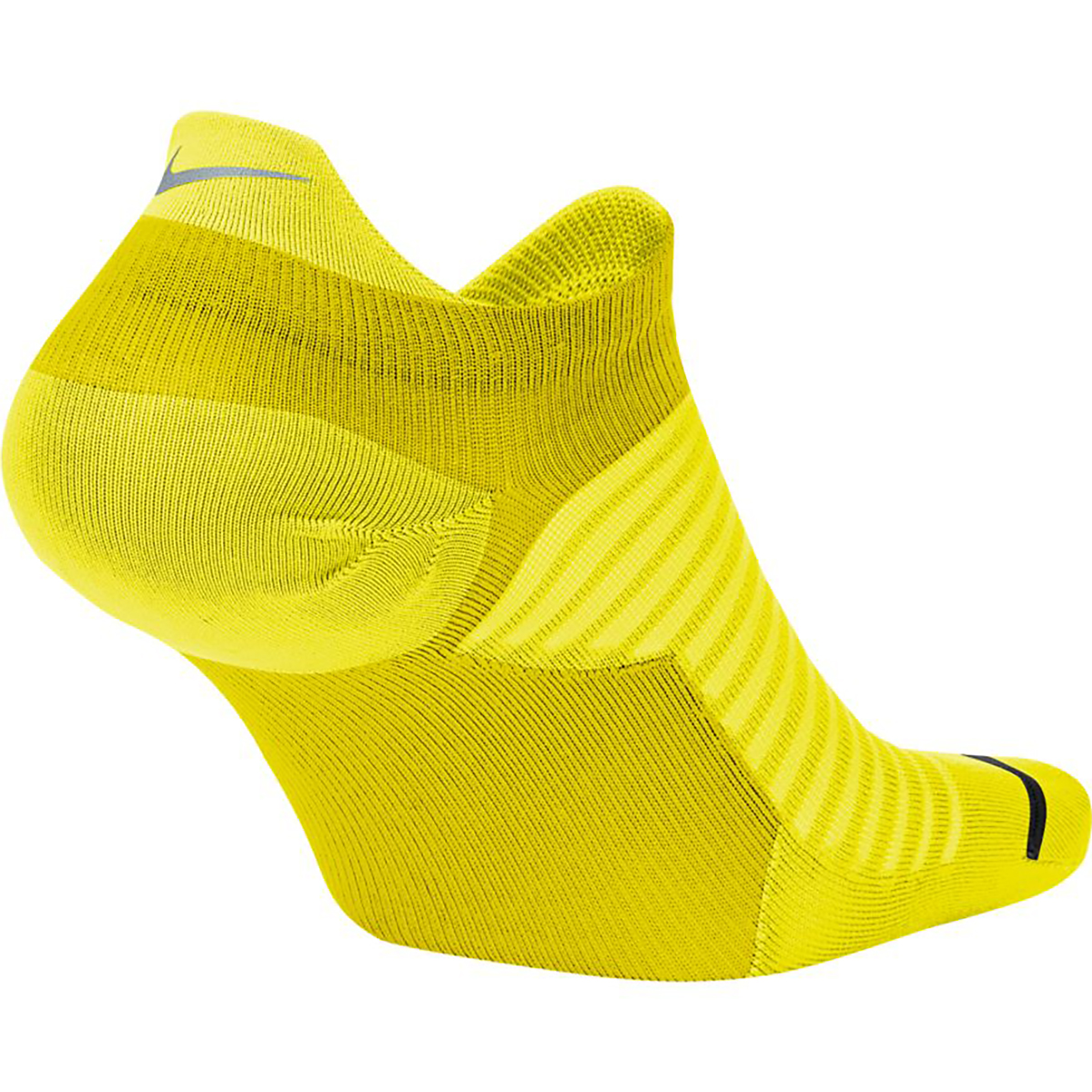 Nike Spark Lightweight No-Show Running Socks - Color: Neon Yellow - Size: 4/5.5, Neon Yellow, large, image 2