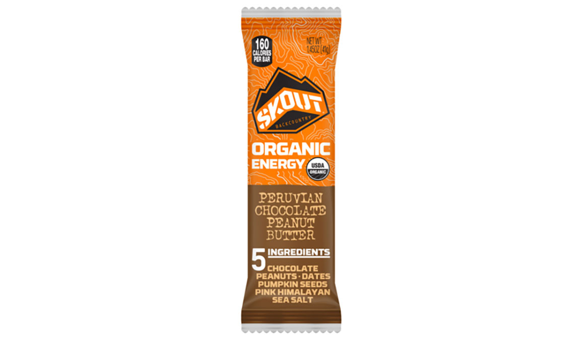Skout Organic Energy Bar - Flavor: Peruvian Chocolate & Peanut Butter - Size: Box of 12, Peruvian Chocolate and Peanut Butter, large, image 1