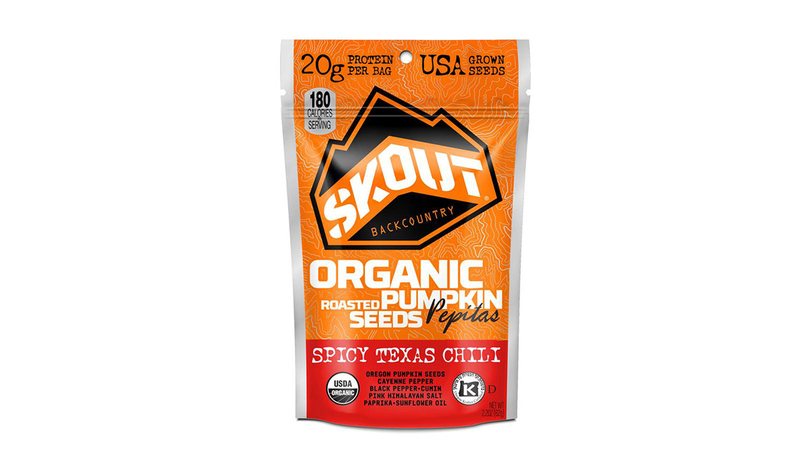 Skout Organic Pumpkin Seeds - Flavor: Spicy Texas Chili - Size: 1 Pack, Spicy Texas Chili, large, image 1