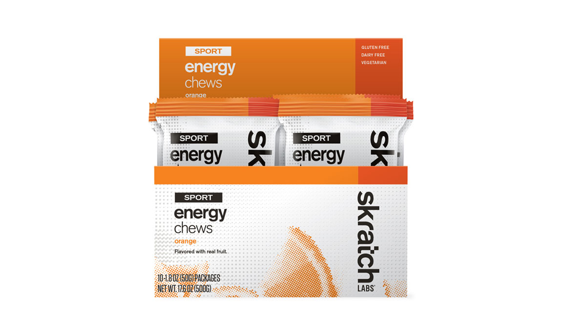 Skratch Labs Sport Energy Chews - Flavor: Orange - Size: Box of 10, Orange, large, image 1