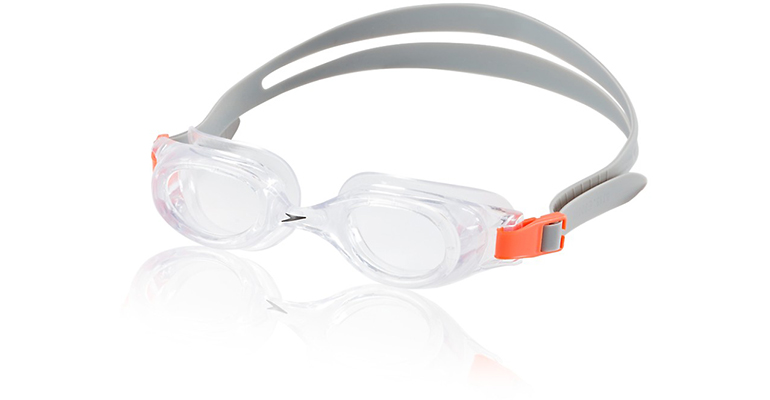 Speedo Jr. Hydrospex - Color: Silver Ice - Size: OSFA, Grey, large, image 1