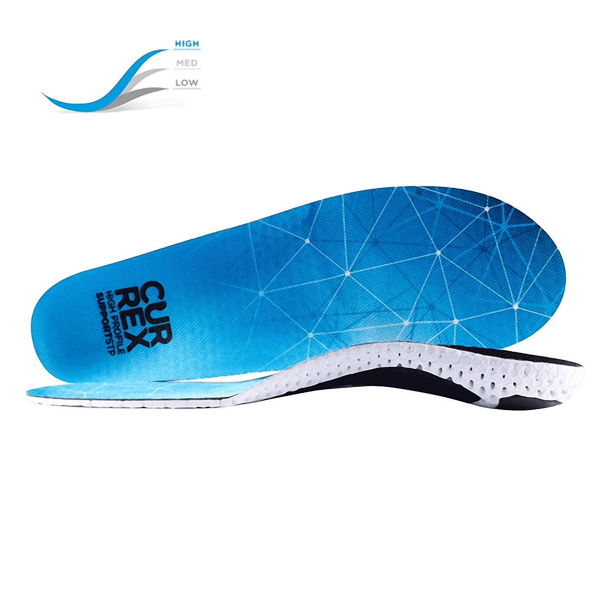 Currex Insole SupportSTP High Profile - Color: Blue Size: XS, Blue, large, image 1