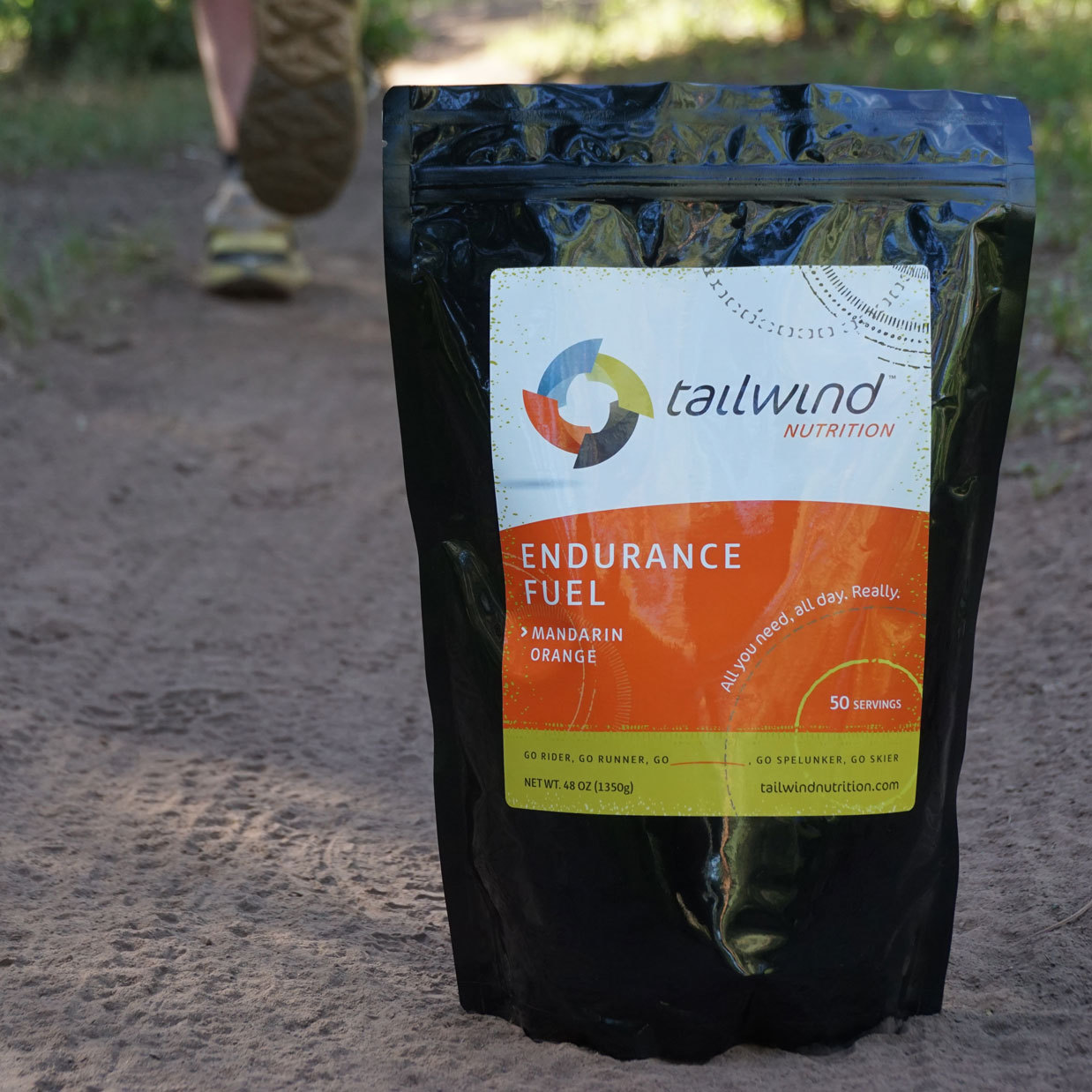 Tailwind Endurance Fuel - Color: Orange - Size: 30 Serving Bag, , large, image 1