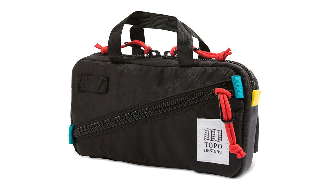 Topo Designs Mini Quick Pack - Color: Black/Black Size: OS, Black, large, image 1