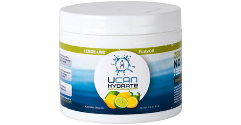 UCAN Hydrate Electrolyte Drink Mix - Flavor: Lemon-Lime - Size: Box of 12, Lemon-Lime, large, image 1