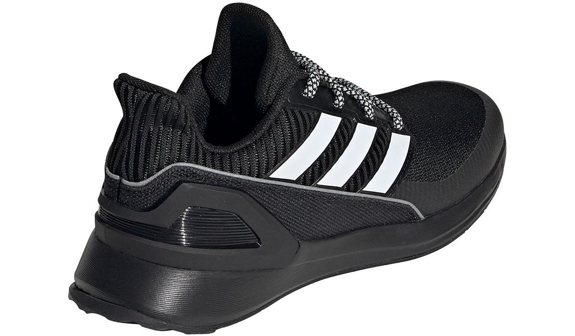 Kids Adidas Grade School RapidaRun KNIT - Color: Black/White (Regular Width) - Size: 5, Black/White, large, image 3