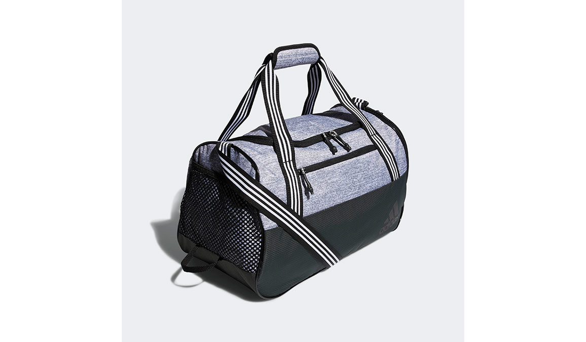 Adidas Squad IV Duffel Bag - Color: Legend Earth Grey Size: OS, Grey, large, image 3