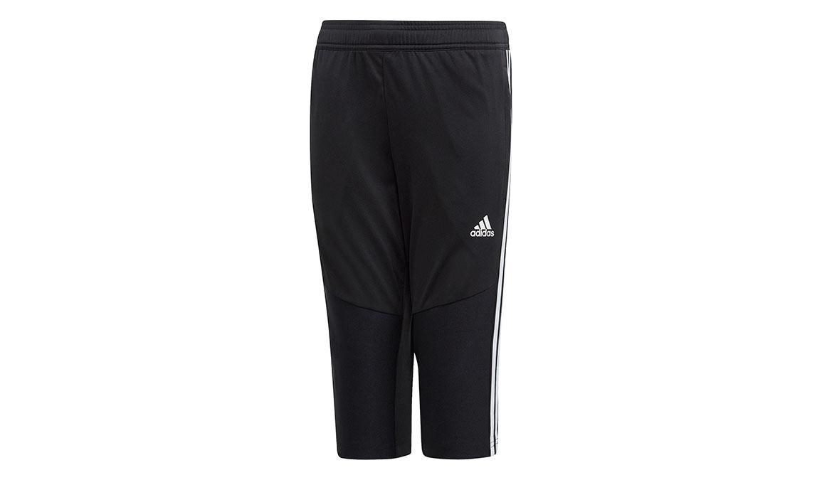 Kids Adidas Tiro 19 3/4 Pants - Color: Black/White Size: XXS, Black/White, large, image 1