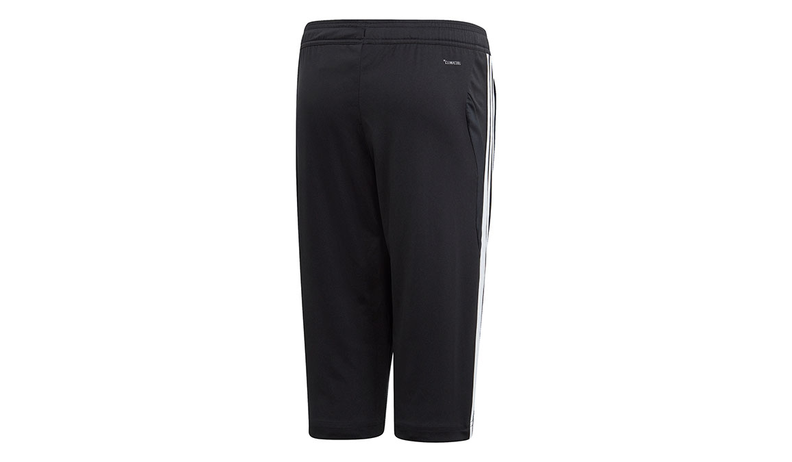 Kids Adidas Tiro 19 3/4 Pants - Color: Black/White Size: XXS, Black/White, large, image 2