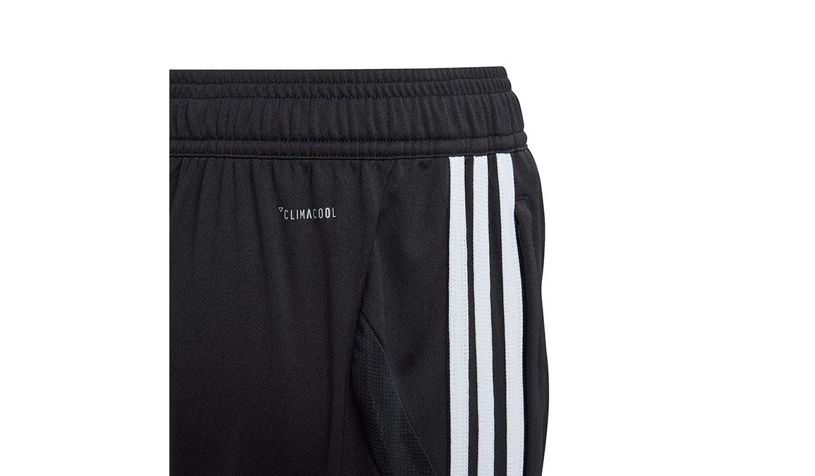 Kids Adidas Tiro 19 3/4 Pants - Color: Black/White Size: XXS, Black/White, large, image 3