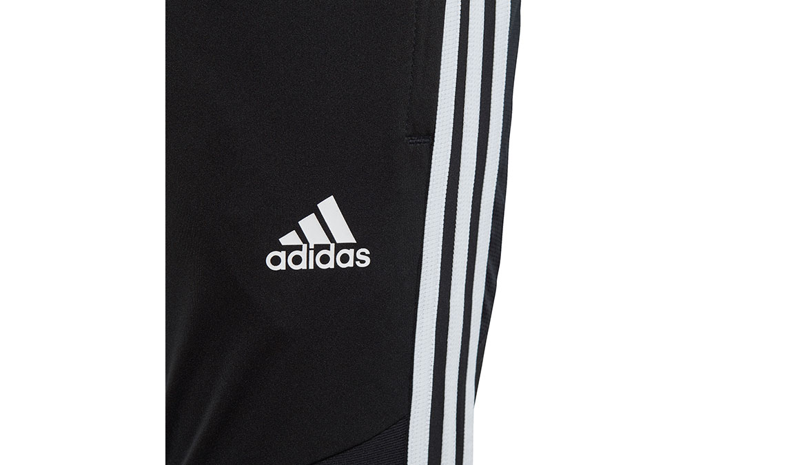 Kids Adidas Tiro 19 3/4 Pants - Color: Black/White Size: XXS, Black/White, large, image 4