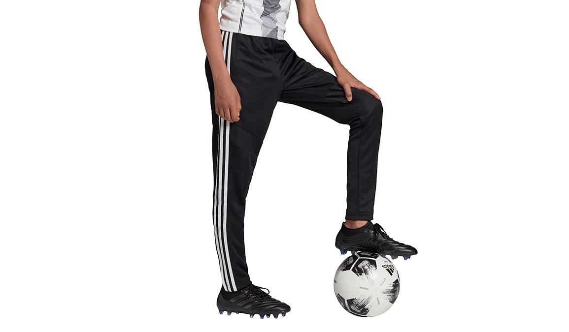 Kids Adidas Tiro 19 Training Pants - Color: Black/White Size: XXS, Black/White, large, image 2
