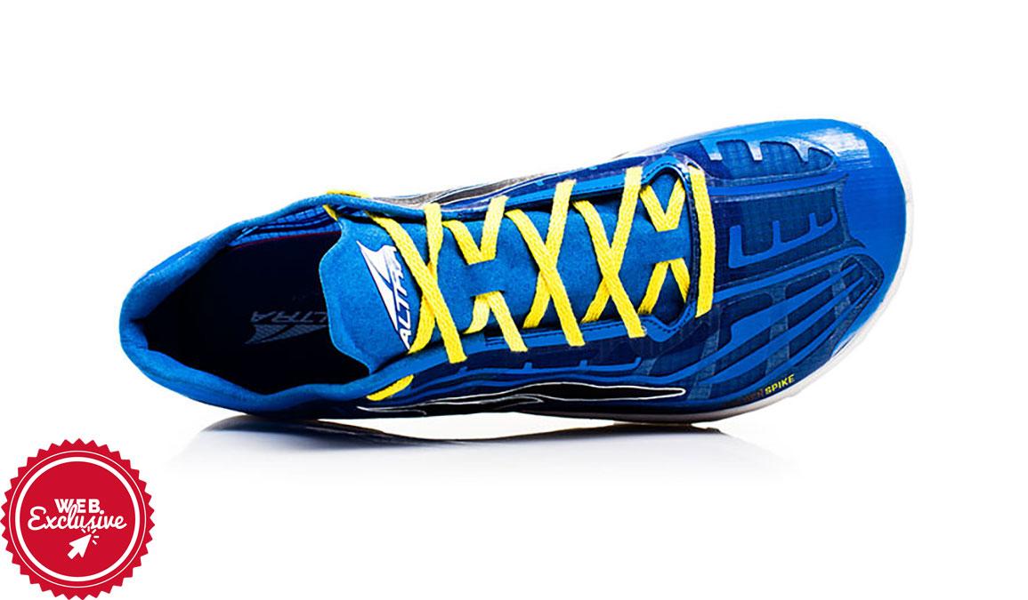 Altra Golden Spike Trail Running Shoe - Color: Blue (Regular Width) - Size: 10, Blue, large, image 3