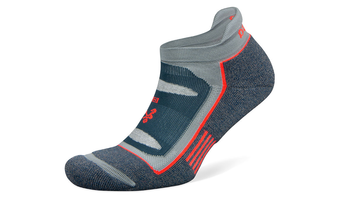 Unisex Balega Blister Resist No Show Socks - Color: Legion Blue/Grey Bleach Size: S, Blue/Grey, large, image 1